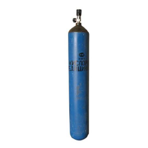 лучшая цена Баллон БАРС кислородный 10 л (новый, пустой)