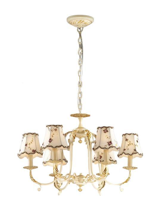 Люстра Lamplandia 5555-6 anna maria люстра lamplandia daria 3х40вт е14 металл темно коричневый