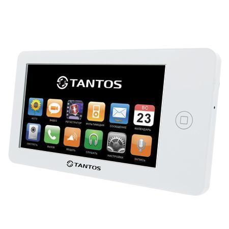 Монитор видеодомофона Tantos Neo белый