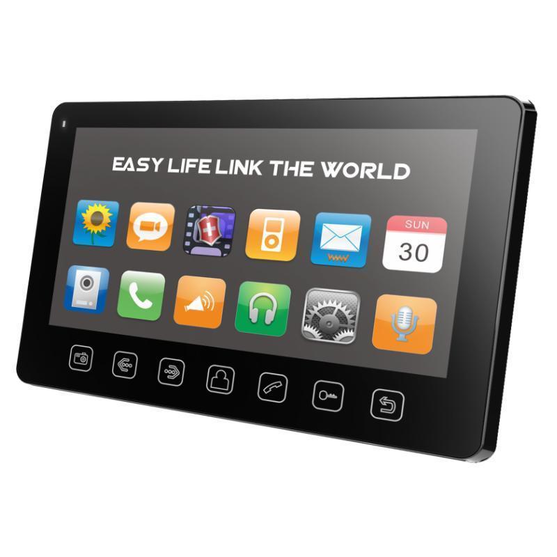 Монитор видеодомофона Tantos Prime slim черный цены онлайн