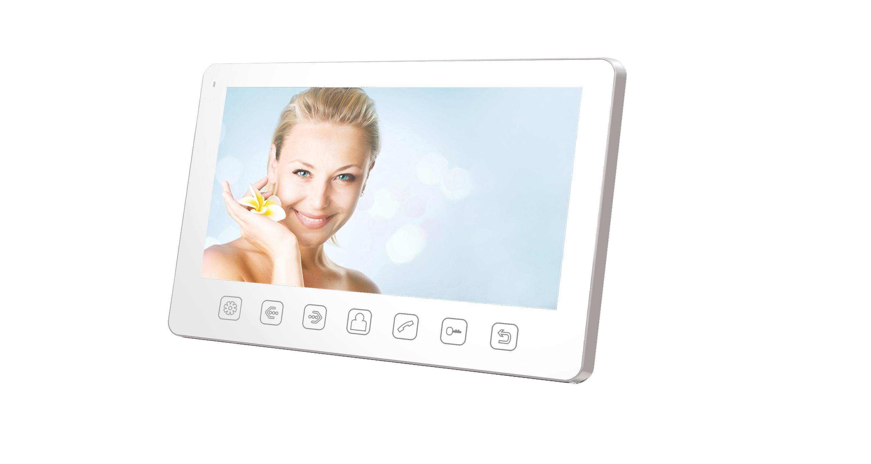 Монитор видеодомофона Tantos Amelie slim белый цены онлайн