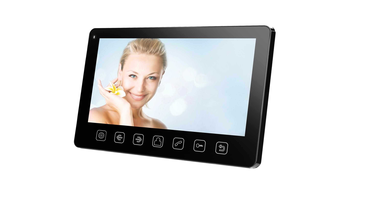 Монитор видеодомофона Tantos Amelie slim черный цены онлайн