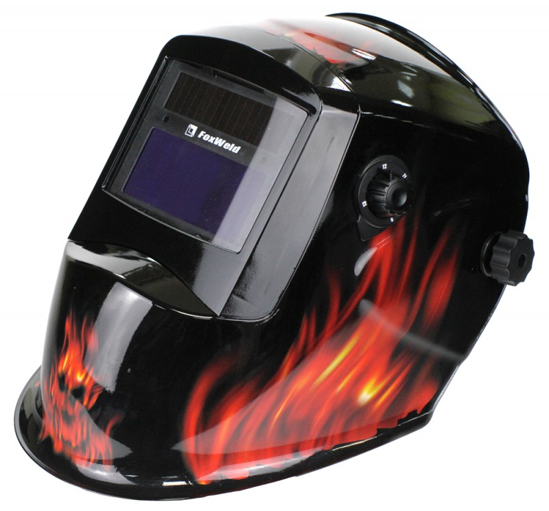 цена на Маска Foxweld Корунд-2 Пламя