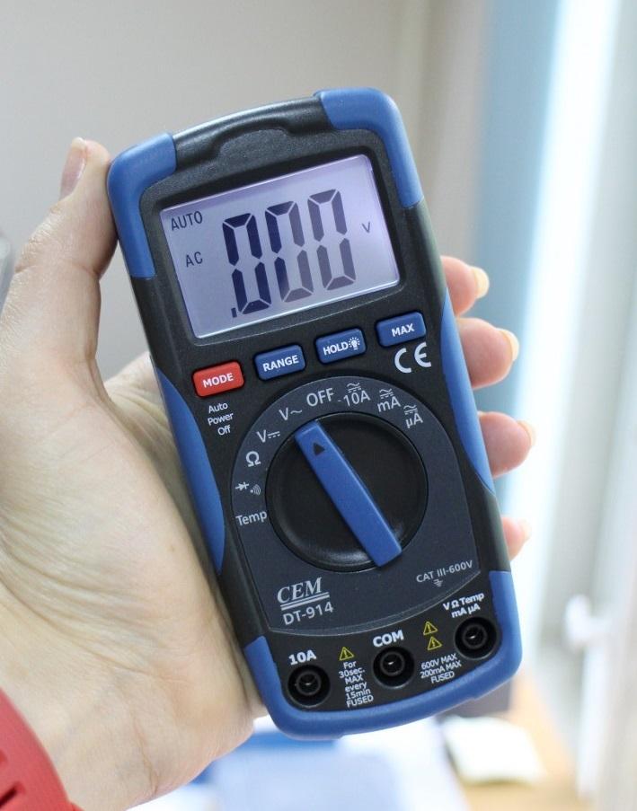 Мультиметр Cem Dt-914 цена