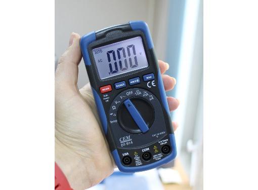 Мультиметр цифровой CEM DT-914