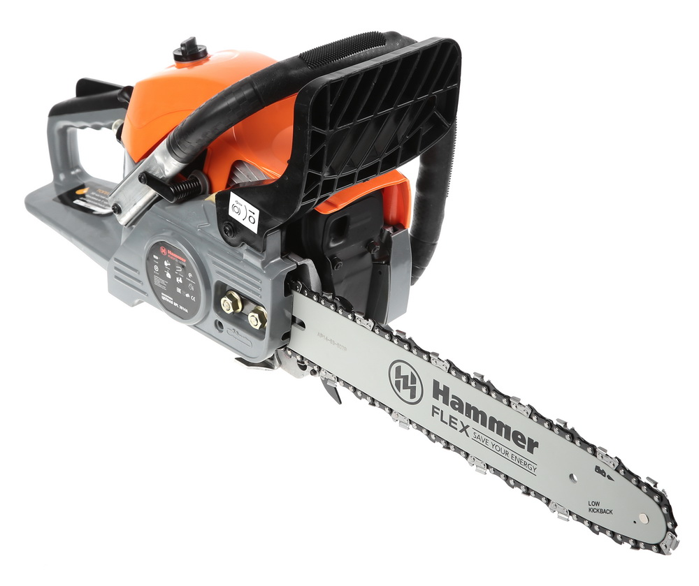 Бензопила Hammer Bpl3814a бензопила hammer flex bpl 2512 b