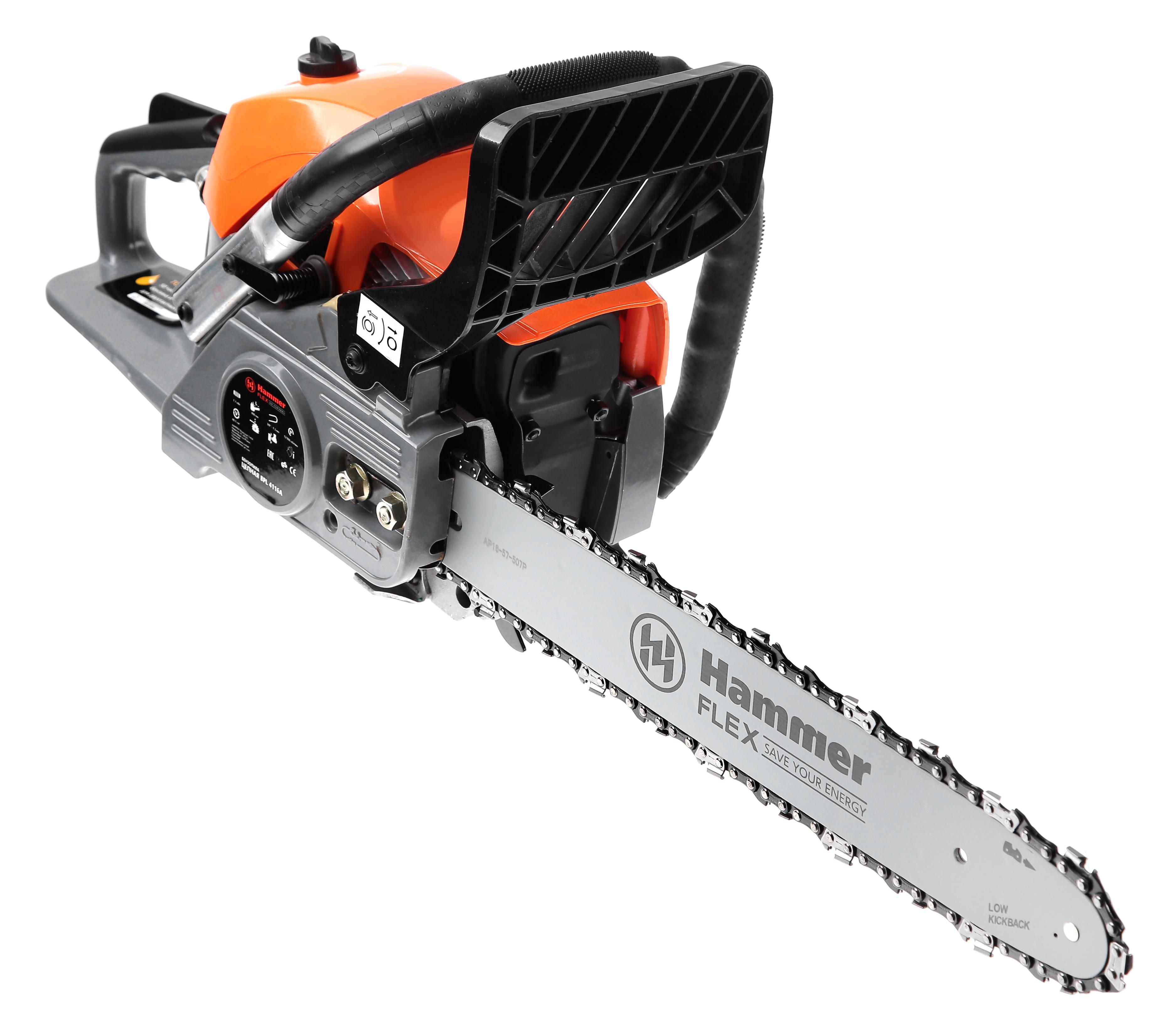 Бензопила Hammer Bpl4116a бензопила hammer flex bpl 2512 b