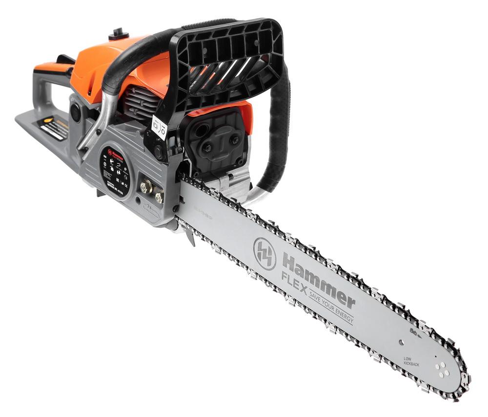 Бензопила Hammer Bpl4518a бензопила hammer flex bpl 2512 b