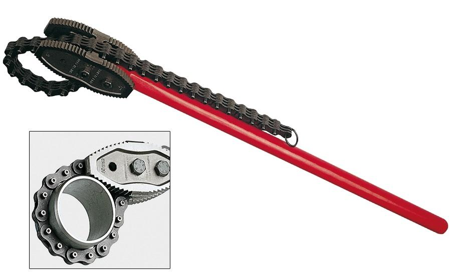 Ключ трубный цепной Super-ego 103340000 ключ трубный переставной super ego 530100000