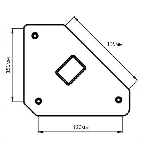 Угольник магнитный Smart&solid Mag606 наколенник магнитный здоровые суставы