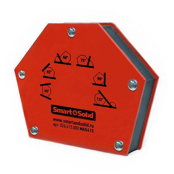 лучшая цена Угольник магнитный Smart&solid Mag615
