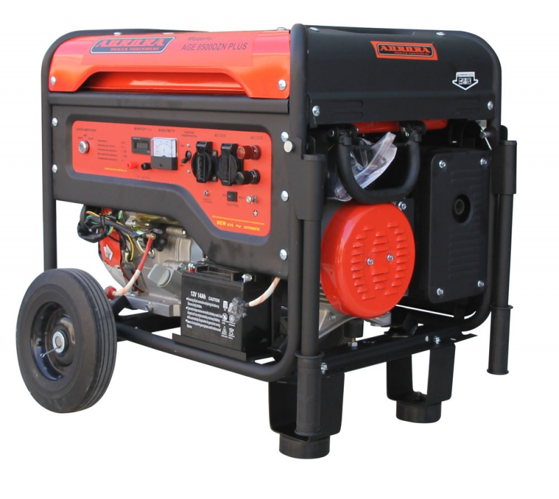 Бензиновый генератор Aurora Age 8500 dzn plus бензогенератор aurora age 2500