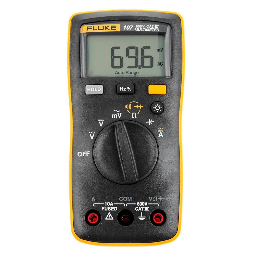 Мультиметр Fluke 107  мультиметр мегометр fluke 1577
