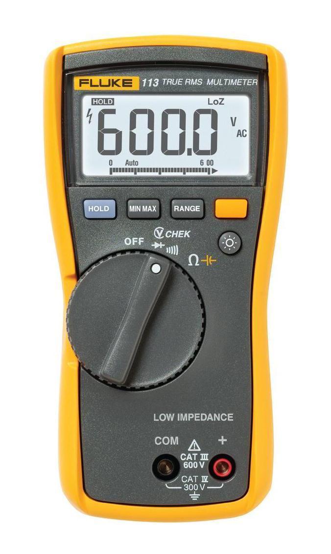 Мультиметр Fluke 113  мультиметр мегометр fluke 1577