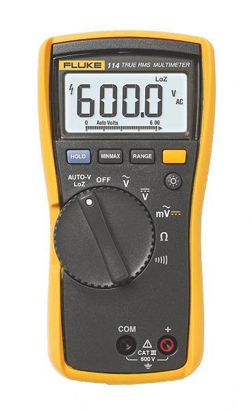 Мультиметр Fluke 114 мультиметр мегометр fluke 1577