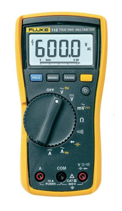 Мультиметр Fluke 115 калибратор петли тока fluke 709