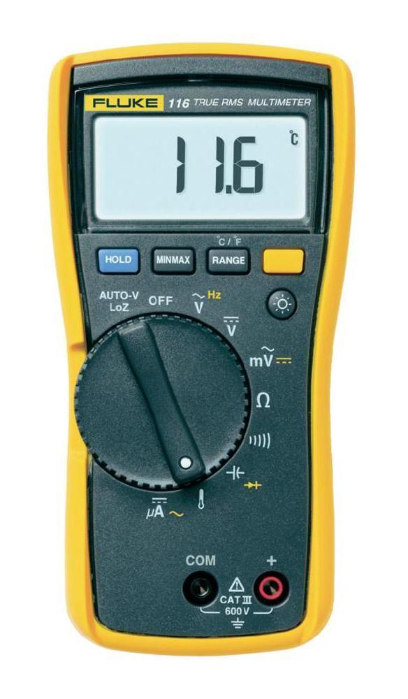 Мультиметр Fluke 116 мультиметр мегометр fluke 1577