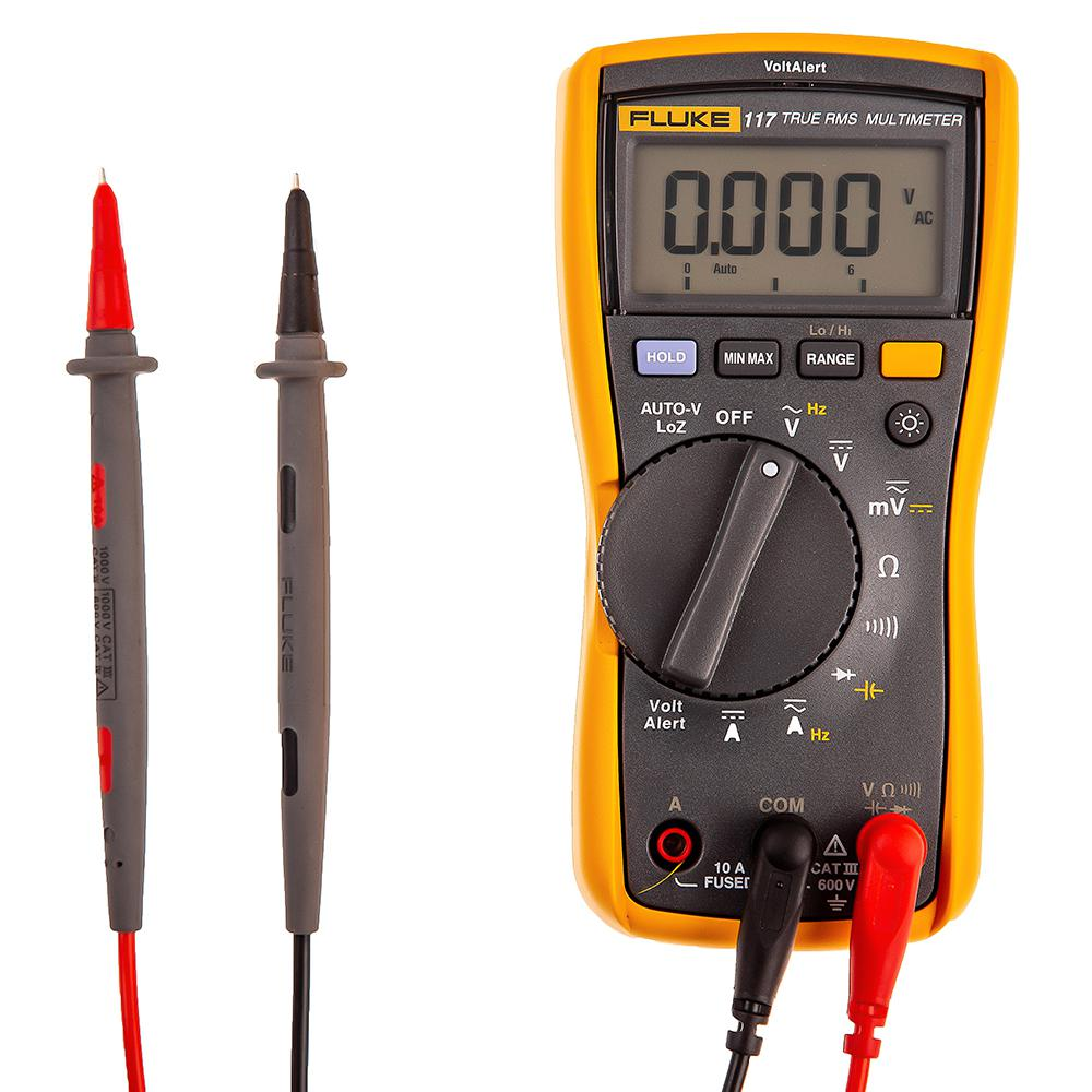 Мультиметр Fluke 117 калибратор петли тока fluke 709