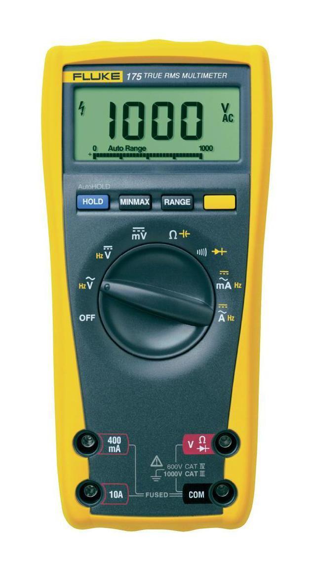 Мультиметр Fluke 175 калибратор петли тока fluke 709