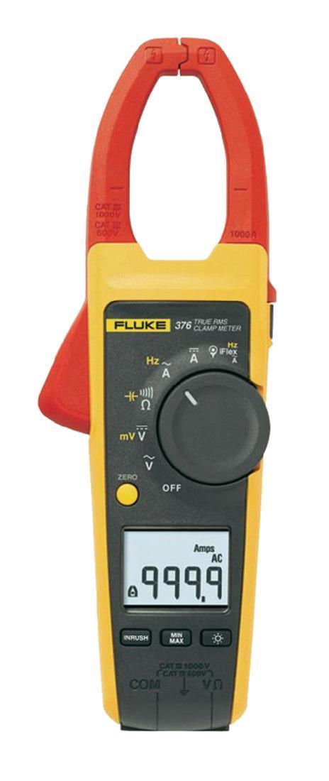 Фото 8/9 Fluke 376 токовые клещи с гибким датчиком тока iFlex