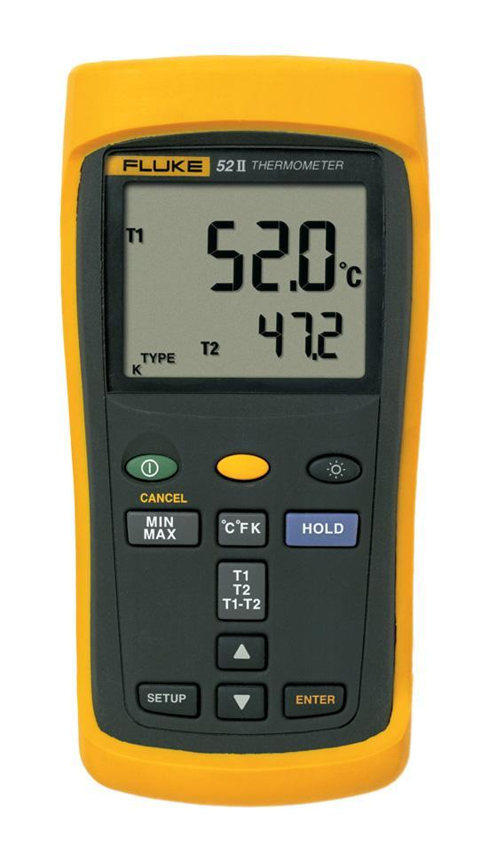 Пирометр (термодетектор) Fluke 52 ii пирометр термодетектор fluke 566
