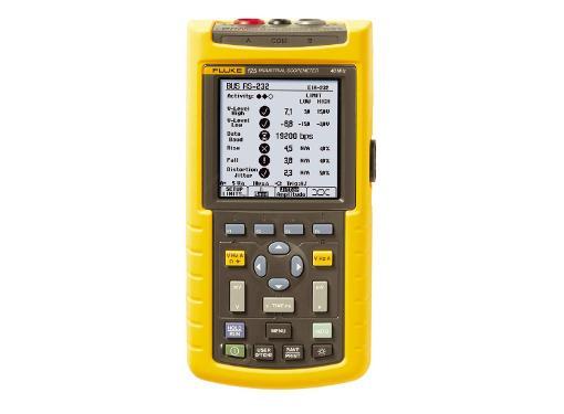 Промышленный осциллограф FLUKE 123 портативный 20 МГц