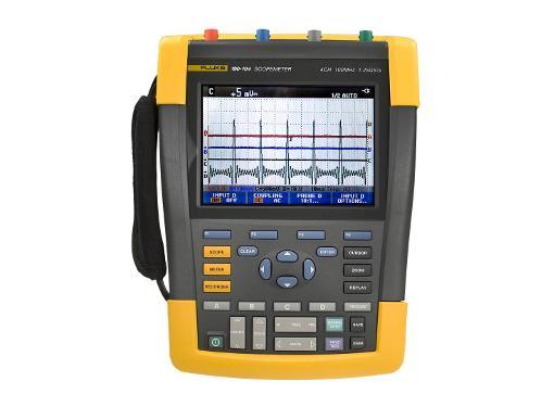 Мультиметр-осциллограф FLUKE 190-104 портативный 100 МГц