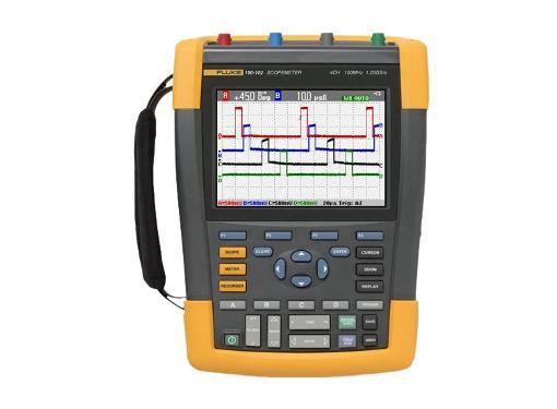 Мультиметр-осциллограф FLUKE 190-102/S портативный 100 МГц