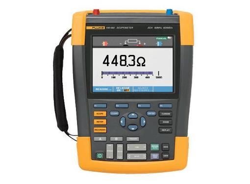 Мультиметр-осциллограф FLUKE 190-062 портативный 60 МГц