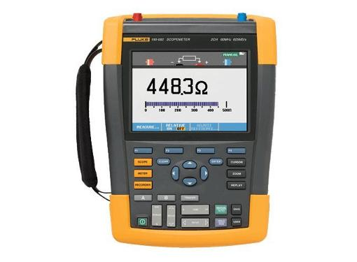 Осциллограф FLUKE 190-062/S портативный 60 МГц