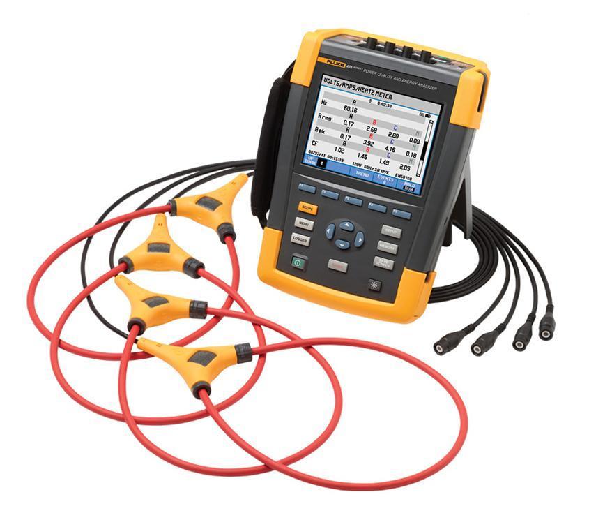 Анализатор качества электроэнергии Fluke 435 ii регистратор электроэнергии fluke 1730 hanger
