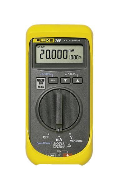 Калибратор петли тока Fluke 705  калибратор токовой петли fluke 789 e