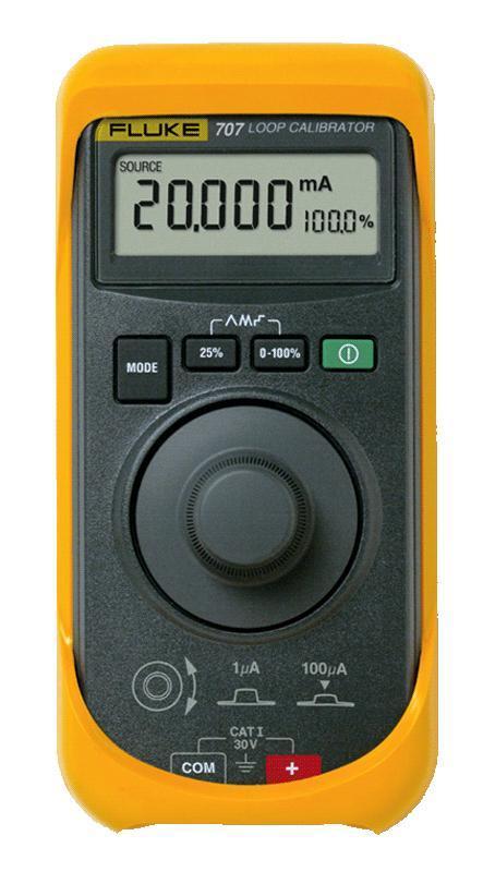 Калибратор петли тока Fluke 707  калибратор токовой петли fluke 789 e