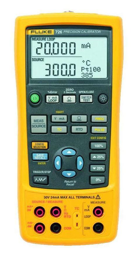Калибратор процессов Fluke 726 калибратор токовой петли fluke 787 e