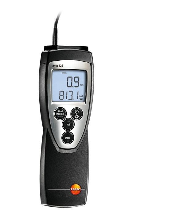 Термоанемометр Testo 425 термоанемометр стик класса карманный testo 405 v1 с поверкой по каналу