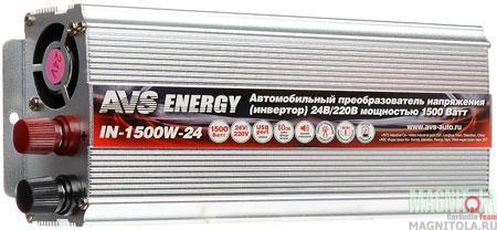 Инвертор Avs In-1500w-24 от 220 Вольт