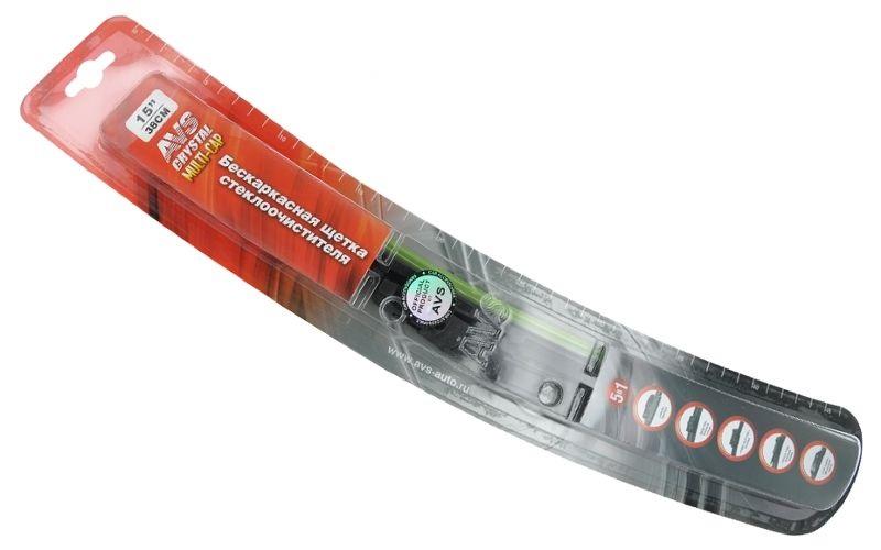 Щётка стеклоочистителя бескаркасная Avs 15 щетка с о autovirazh av 150y 600мм бескаркасная