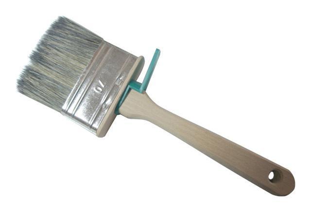 Кисть плоская ЛАЗУРНЫЙ БЕРЕГ 227070 кисть плоская 50 мм искусственная щетина orel деревянная ручка лазурный берег профи