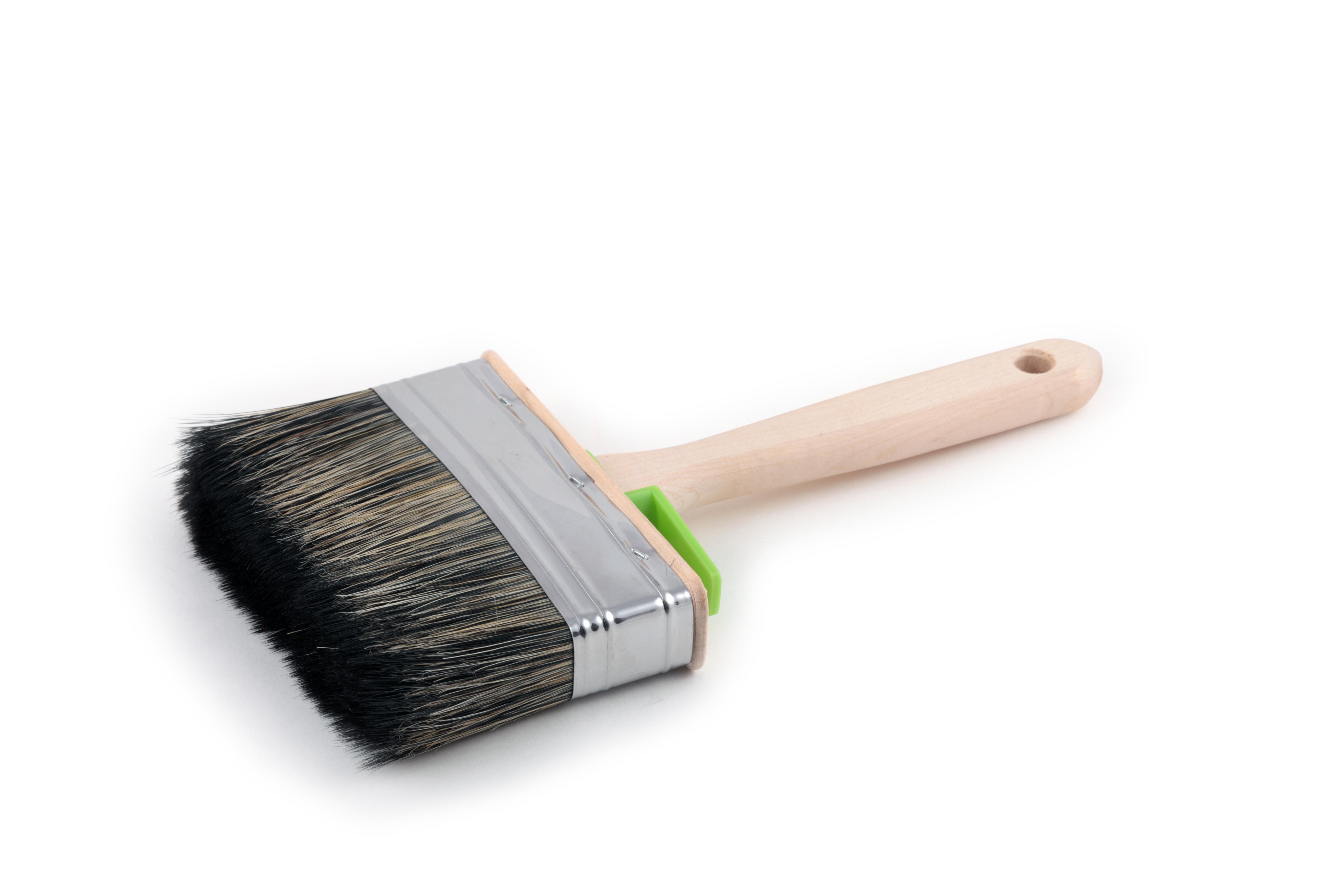 Кисть плоская ЛАЗУРНЫЙ БЕРЕГ КФ 120х35 С7 кисть плоская лазурный берег 25 мм искусственная щетина orel деревянная ручка