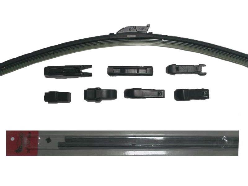 Щётка стеклоочистителя бескаркасная Stels 55416 щетка с о autovirazh av 150y 560мм бескаркасная