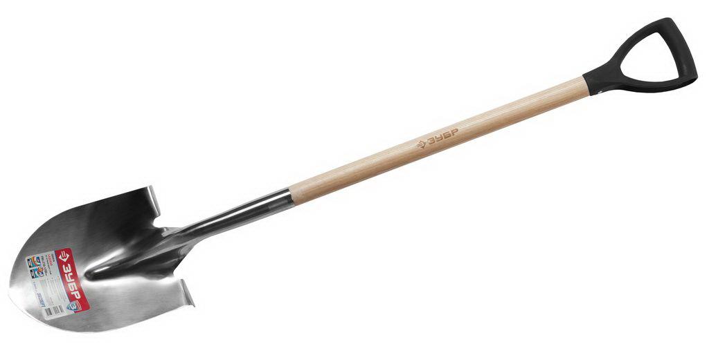 Лопата ЗУБР 4-39430_z01 мини лопата штыковая truper с черенком 69 см