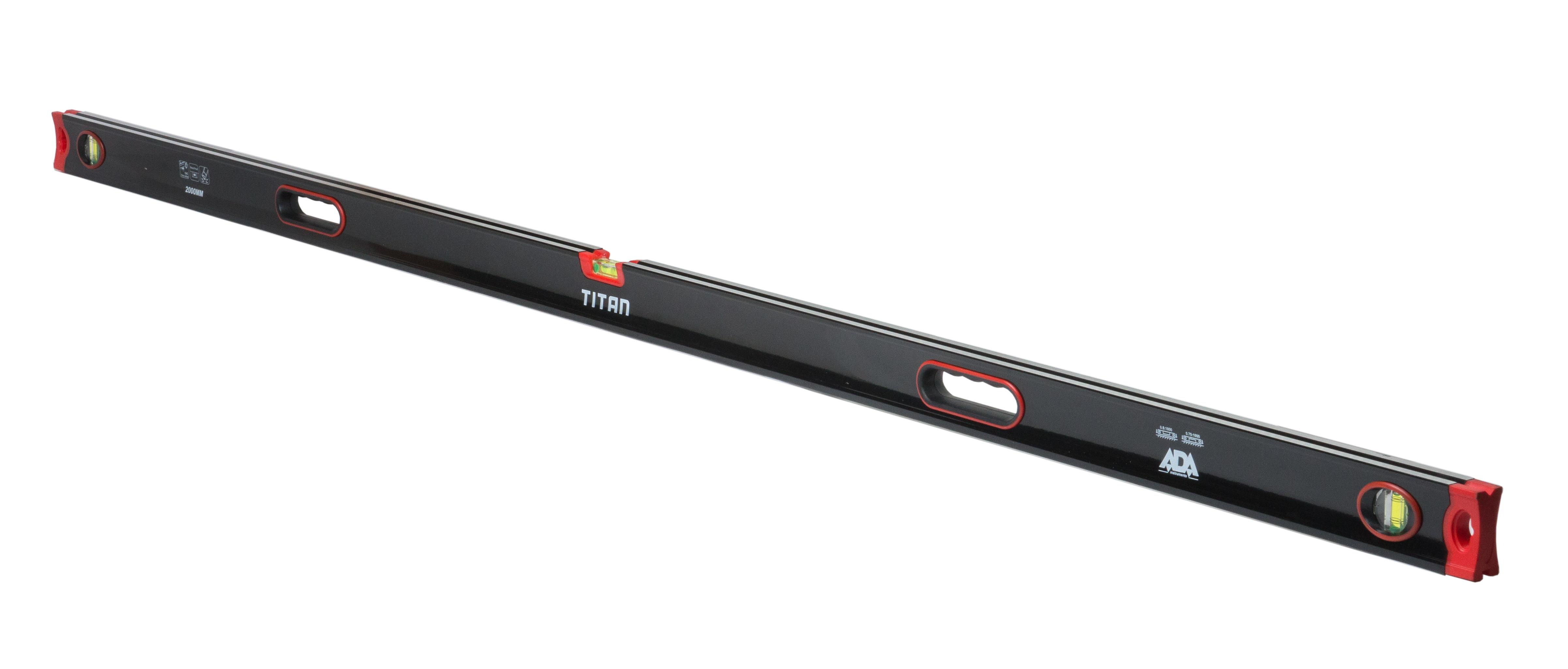 Уровень Ada Titan 2000 диск обрезиненный titan 51 мм 5 кг черный