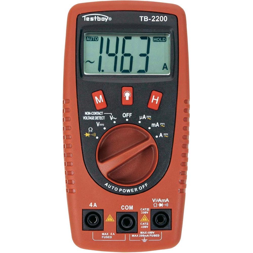 Мультиметр Testboy Tb2200 двигатель постоянного 12 в тока