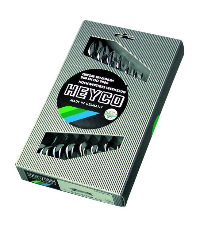 Набор гаечных ключей Heyco He-00350844082 (6 - 22 мм) набор гаечных ключей heyco he 00400928982 6 32 мм