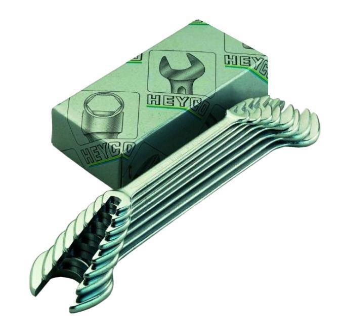 Набор гаечных ключей Heyco He-00350943482 (6 - 22 мм) набор торцевых головок jonnesway 3 8dr 6 22 мм и комбинированных ключей 7 17 мм 36 предметов