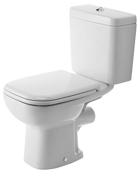 Унитаз напольный Duravit D-code 21110900002 раковина для ванной duravit d code 23106000002
