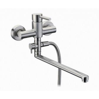 Смеситель для ванны Wasserkraft Wern 4202l стаканчик для зубных щеток wasserkraft wern 7528 9060516