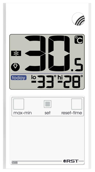 RST Термометр Rst 01588 (РСТ00000091)