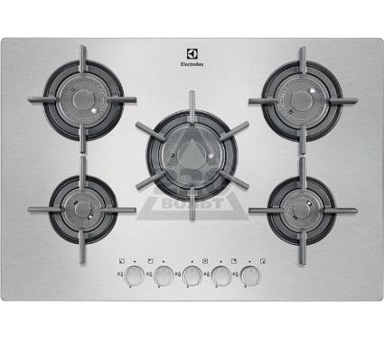 Встраиваемая газовая варочная панель ELECTROLUX EGU97657NX