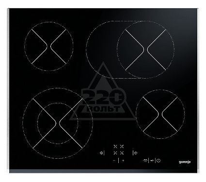 Встраиваемая варочная панель GORENJE ECT620BXC